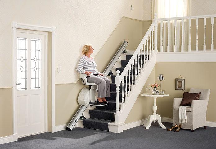 Krzesełka schodowe dla osób niepełnosprawnych